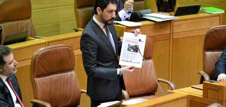 O Parlamento galego pide a Fomento que siga impulsando a A-76