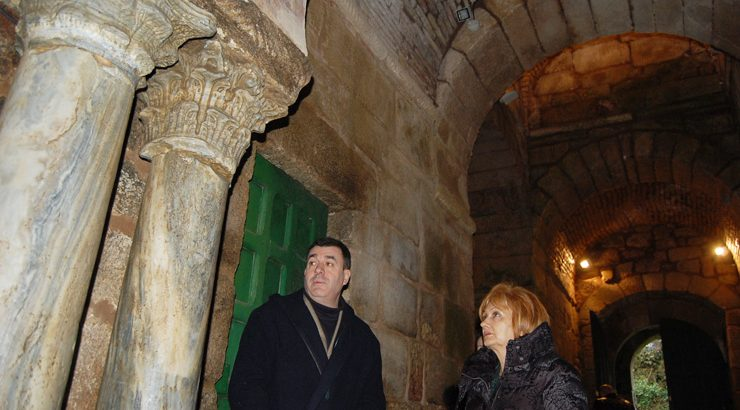 Cultura reparará as humidades da igrexa de Santa Comba de Bande