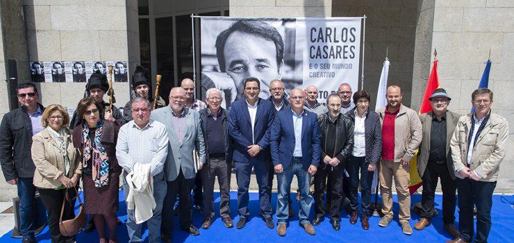 Carlos Casares, protagonista literario en Xinzo na véspera das Letras Galegas