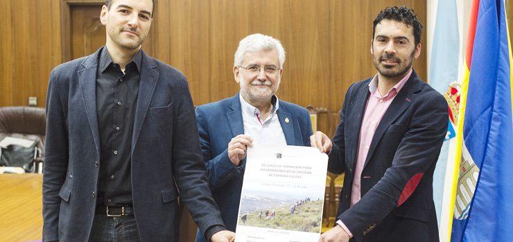A Veiga acolle un curso para formar a guías turísticos sobre a riqueza natural de Galicia