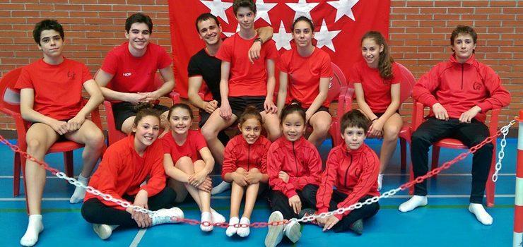 Sete medallas para o Club Ximnasia Pavillón en Madrid