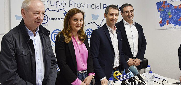 O Partido Popular presentará dúas mocións no próximo pleno da Deputación de Ourense