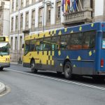 Autobuses urbanos de Ourense.