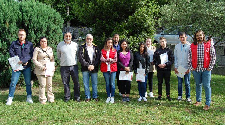 Jóvenes del Ribeiro se forman en Ribadavia para trabajar en sector vitivinícola