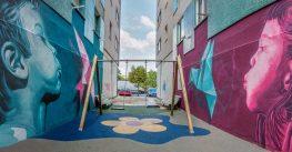 Verín aposta pola arte urbana e a poesía para rehumanizar as súas rúas