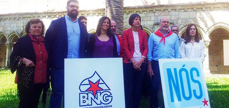 O BNG presenta as súas listas por Ourense para o 26X