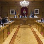 Pleno da Deputación de Ourense. /A.P.