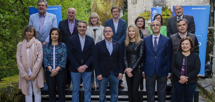 O PP presenta os seus candidatos para o 26X co obxectivo de superar o 45% de votos