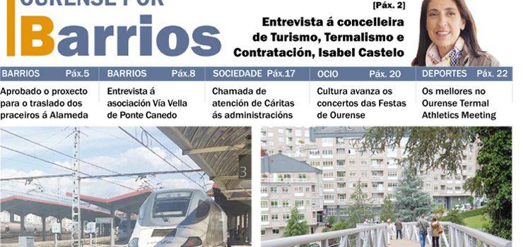 O número de maio de Ourense por Barrios, xa dispoñible