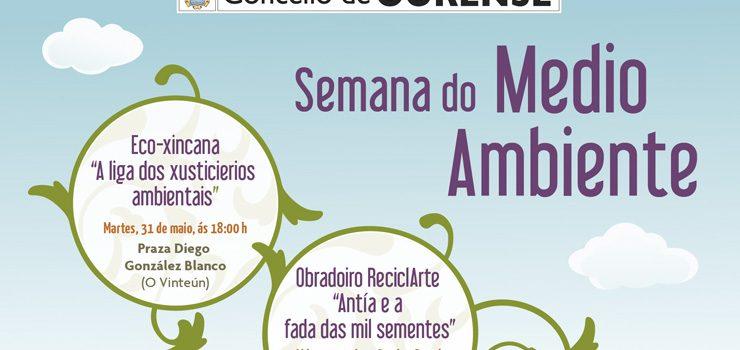 Ourense celebra o Día do Medio Ambiente con actividades nos parques