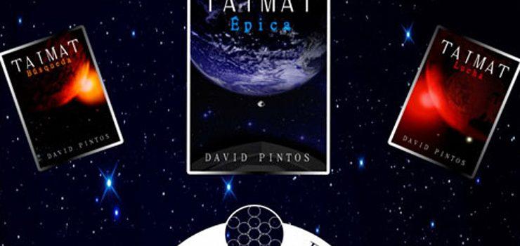 """David Pintos presenta en Verín a obra """"Épica"""", terceira parte da triloxía titulada """"Taimat"""""""