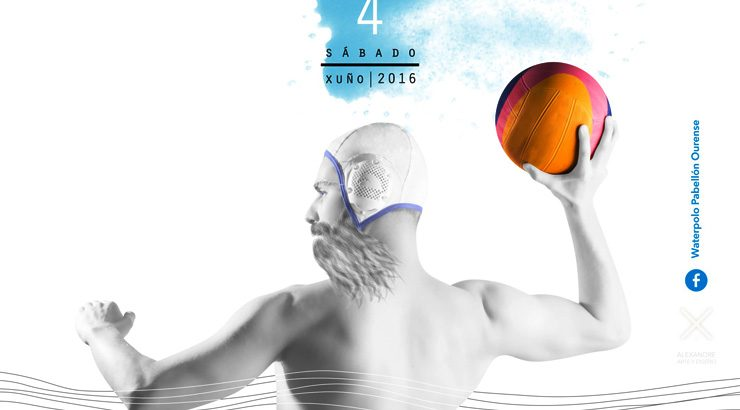 Ourense acoge la Copa Galicia de waterpolo