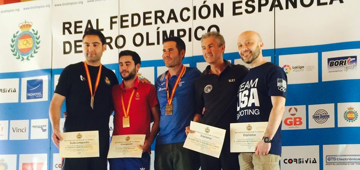 Jorge Encinas, entre los cinco mejores tiradores de España