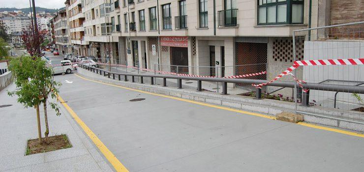 O edificio xudicial estrea novo acceso
