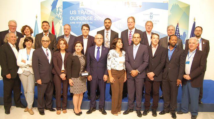 20 empresas estadounidenses buscan en Ourense oportunidades de negocio
