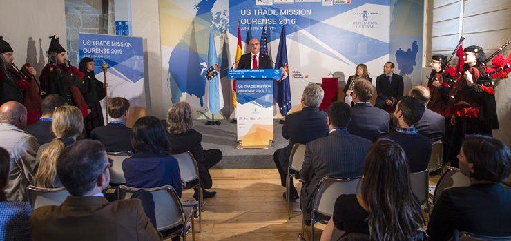 """A misión USA-Ourense """"abre portas comerciais"""" aos produtos ourensáns en Estados Unidos"""