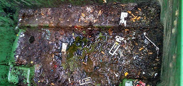 O PSOE de Leiro denuncia a insalubridade dos contedores de lixo