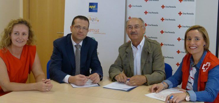 El Grupo Cuevas se compromete con Cruz Roja en el desarrollo de programas de atención social