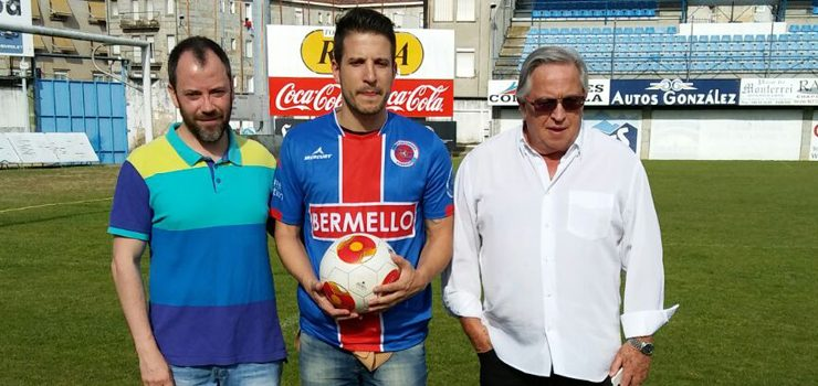 Marcos Sotelo, novo xogador da UD