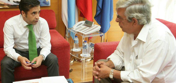 Rey Varela recibe ao alcalde de Xunqueira de Espadañedo
