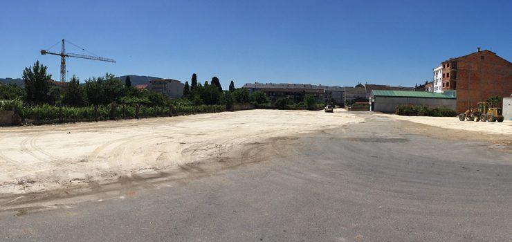Verín abre a próxima semana a súa terceira zona de aparcamento libre provisional