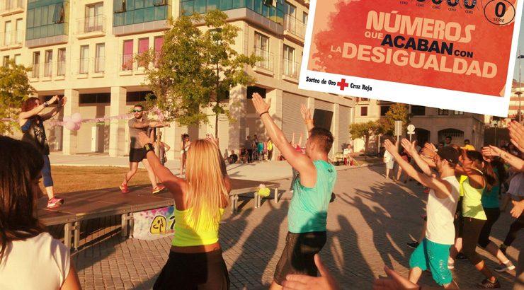Zumba en Ourense y una andaina en Valdeorras, próximas citas solidarias de Cruz Roja