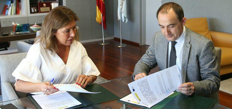 Medioambiente colaborará co Concello de Arnoia para rematar a rede de abastecemento no Val de San Vicente