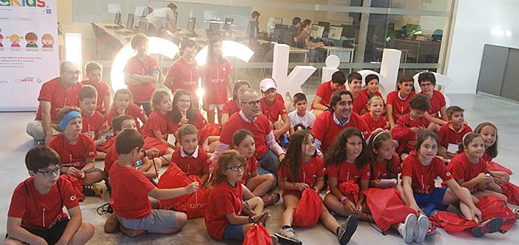 La Molinera acolle o I Campamento Tecnolóxico ICC KIDS