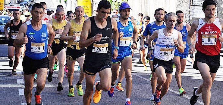 Fernández e Ocampo vencen baixo a calor de Leiro