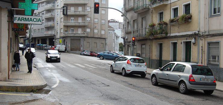 Infraestruturas inicia a reparación de dous treitos da estrada da Granxa