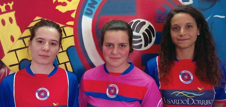 «Ches», Dana e Laura reforzan á UD Ourense
