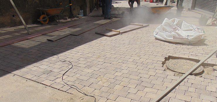 O Concello de Allariz mellora a rúa As Laxas