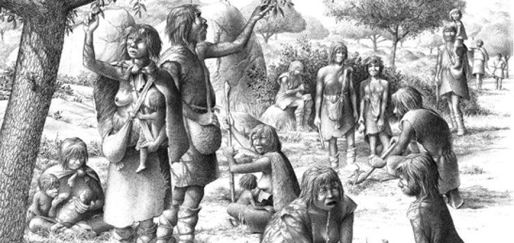 Unha mostra percorre a evolución humana no Parque Arqueolóxico de San Cibrao de Las