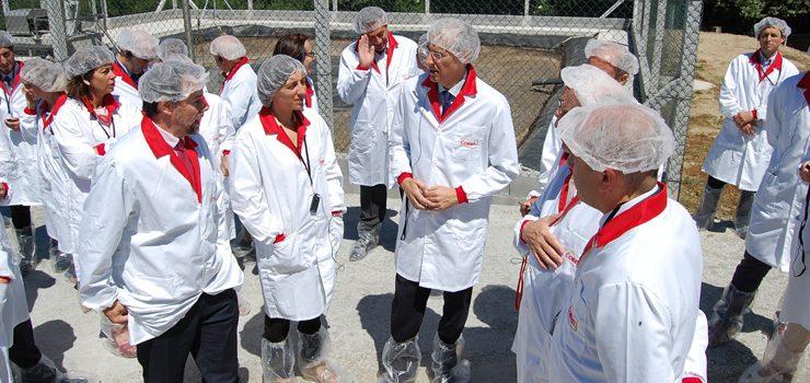 Coren pon en marcha en Celanova unha innovadora planta de tratamento de xurros