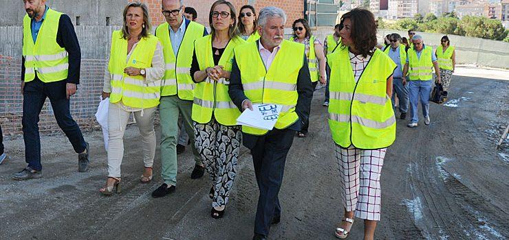 A Xunta rematará en agosto a explanada dos novos accesos ao CHUO