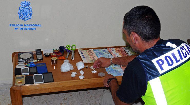 La Policía Nacional detiene a cuatro personas dentro de la Operación Libertad