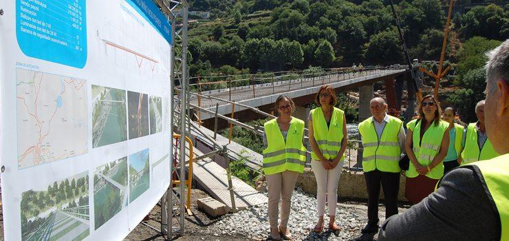 A nova ponte sobre o Miño nos Peares, para setembro