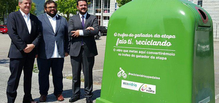 La Vuelta contará con trofeo de vidrio reciclado