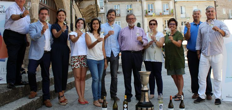 Las bodegas del Ribeiro homenajean a la Copa del Navegante