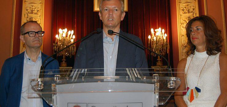 Rueda visita Ourense para comentar as próximas melloras da casa consistorial