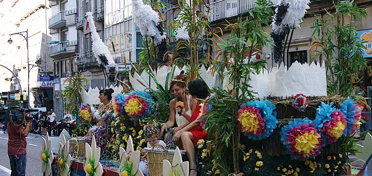 A Batalla de Flores, de novo nas Festas