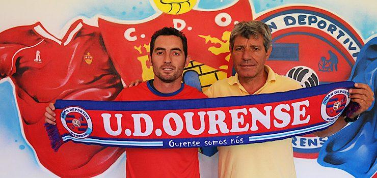 Rubén Durán aposta pola UD Ourense