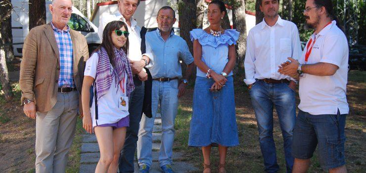 100 mozos participan no campamento de Penedos de Xacinto