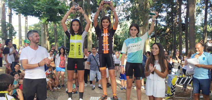Cinco podiums para la Escola JA Hermida