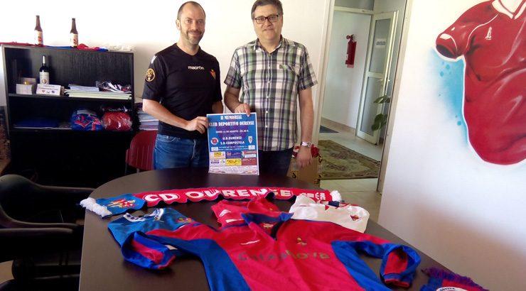 O Compostela tamén rendirá homenaxe a CD Ourense