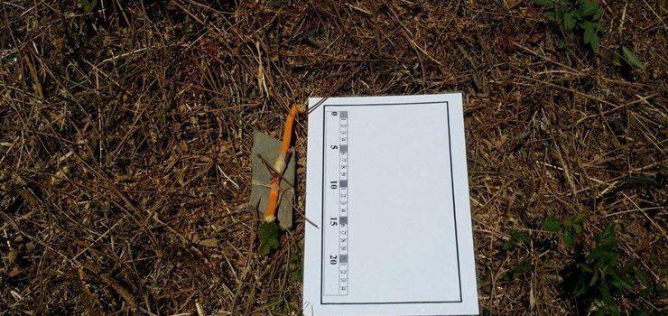 Investigan a aparición dun artefacto incendiario nun monte de Boborás