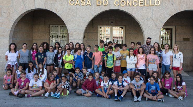 50 nenos de Verín participan no primeiro grupo do Campamento do Invernadoiro
