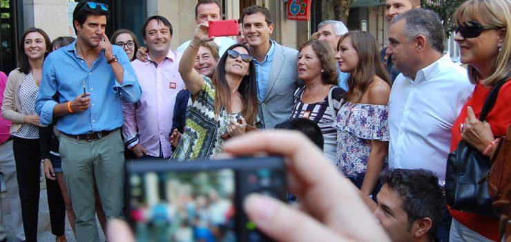 Rivera defiende a autónomos  y empresarios en Ourense