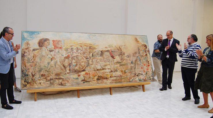 O óleo na obra de Prego de Oliver completa o proxecto expositivo sobre o artista ourensán