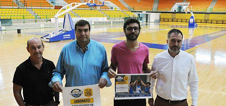 Arranca la campaña de socios del Club Ourense Baloncesto
